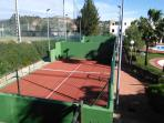 Two Padel Tennis Coarts
