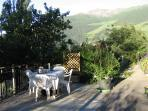 terrazza tavolo da pranzo