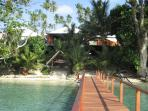 Paradise Lodge beachfront - great swimming, snorkelling on your doorstep