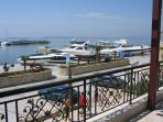 Marina restaurant view