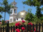 Vlas church - short walk from apartment