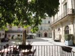 Place Gambetta, home of restaurants, galleries, cafes and weekly organic food market