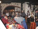 Inside one of the many traditional Mehanas. Great food, great wine, great atmosphere.