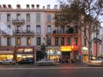 The street Carnot, Cannes.
