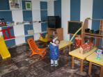 Zona comunitaria para niños