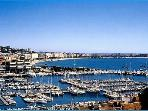 Cannes port.