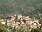 View of neighbouring village, Castelvecchio