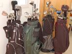 4 full sets golf clubs
