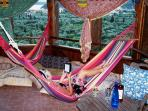 Relax in the Hammock Tower. Have a massage or enjoy Yoga.