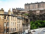 Close to Edinburgh Castle