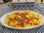 Pappardelle Anna's style