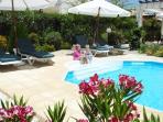 Beautiful gardens around the pool