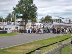 The famous Goodwood Revial motor racing