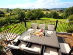 Al fresco dining with breathtaking views