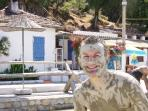 Stop off at the mud baths on your boat trip