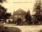 Carte postale du moulin au 19ème siècle
