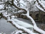 Crickhowell Bridge 50m from River Cottage
