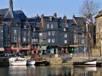 Honfleur: quai Saint Catherine