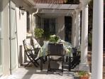 Front terrace of Villa Marina