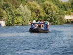 Enjoy a boating holiday on River Thames during your stay - book an optional longer cruise