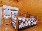 Miss Bee Haven resort loft bedroom