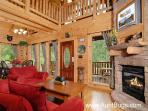 Secluded Pigeon Forge Cabin