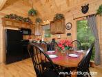 Pigeon Forge Cabin with Fully Equiped Kitchen