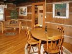 Bear Cabin #462- Kitchen Table