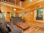 Pine Cove Hideaway #1816- Living Room