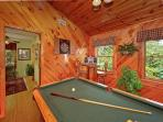 A Smokin' View #1844- Pool Table