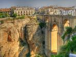 Scenic Ronda, just 1.5 hours away