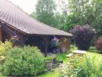 Jardin de 4000m2, sans limite car propriété ouverte sur campagne