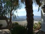 Garden and view over the Almanzora Valley