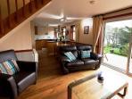 Comfortable lounge room