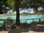 Casoli Lake is known locally as Lago di Sant Angelo and is ideal for a picnic