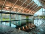 The Luxury Spa Heated Indoor Pool, at the Lower Mill Estate