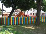 Children's play area in Bansko town centre
