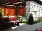 One of many traditional restaurants in Bansko.