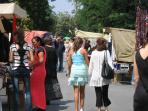 Bansko. A street market full of bargains!