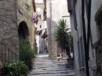 Via di Mezzo, centro storico Sacrofano