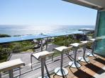 View of the Atlantic Ocean and Camps Bay.