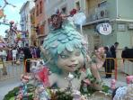 the amazing festival of Las Fallas