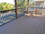 Master suite balcony, views to conservation area