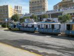 Take a ride on the Calpe Express.