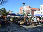 Buy your fresh food at the daily market in Caldas da Rainha and visit the famous ceramics factory