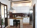 Fully equipped American style kitchen