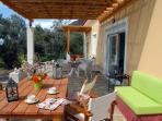 Melinda Holiday House veranda panorama