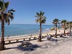 Beach at Olhos d'Agua approx. 5 min walk