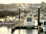 Stroll around the harbour in Peniche, enjoy a meal in one of the many fish restaurants.