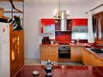 Our fully equipped modern kitchen with all the mod cons you could possibly need during your holiday